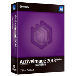 ActiveImage Protector 2018 Update IT Pro Edition